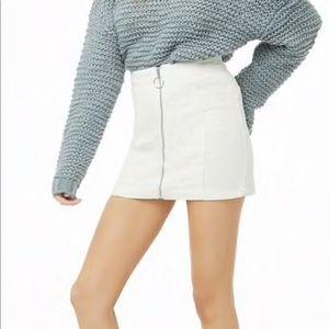 Zip Corduory Skirt 🍭